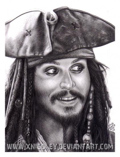 Johnny Depp par NicArtistic